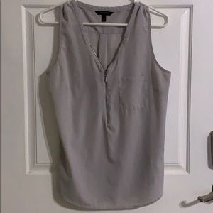 Womens banana republic sleeveless blouse